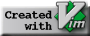 Created with Vim